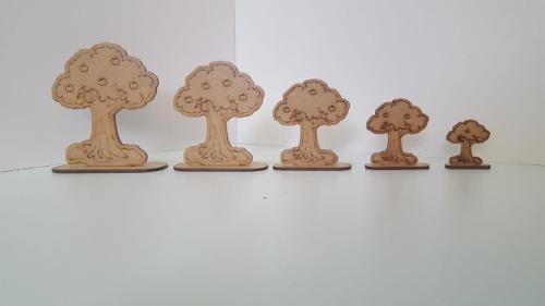 Juegos didácticos - seriaciones de madera