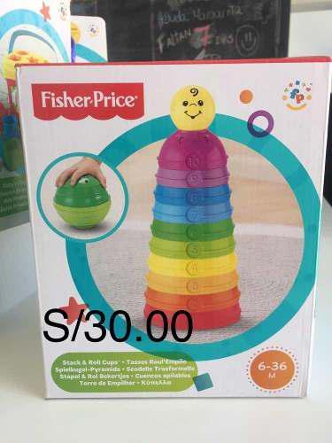 Juguetes didácticos bebé fisher price