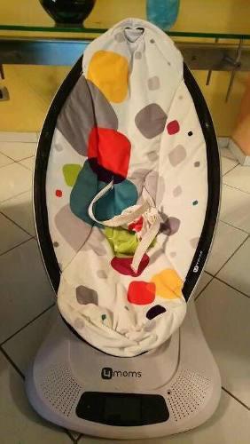 Mecedora de bebé 4 mons con poco uso