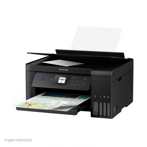 Multifuncional de tinta epson ecotank l4160 imprime/esca...