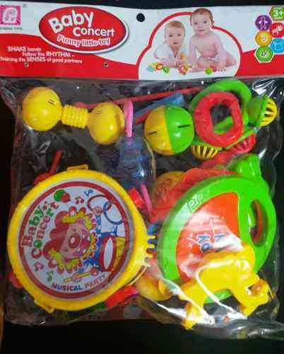 Set musical infantil baby concierto juguete tambor bebe