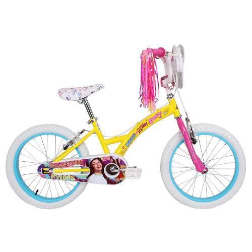 Bicicleta disney de niña soy luna aro 20 amarillo