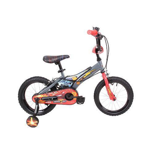 Bicicleta disney de niño cars aro 16 gris