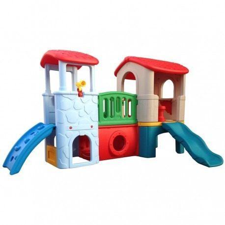Estación de juegos casa club para niños