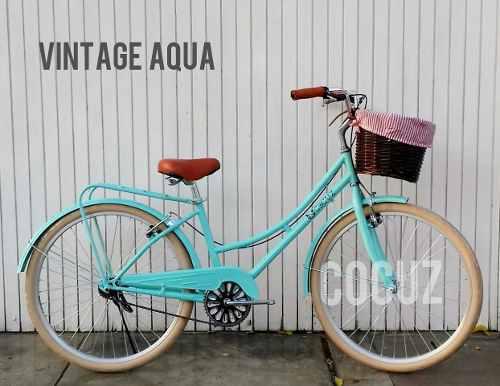 Vendo linda bicicleta de paseo vintage mujer nueva aro 26