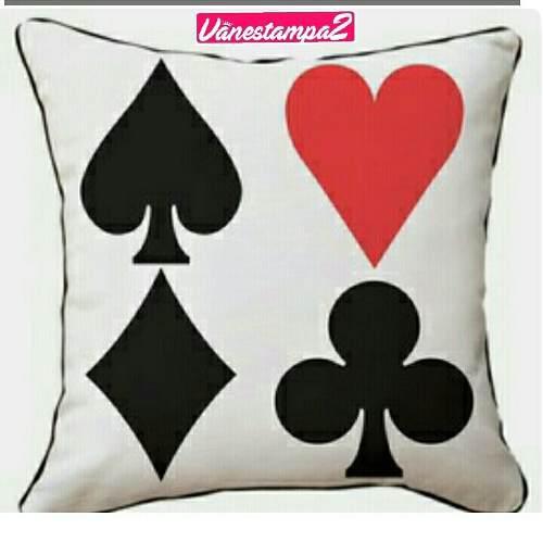 Oferta Cojines Decorativos.Cojines Decorativos De Poker Black Jack En Peru Ofertas