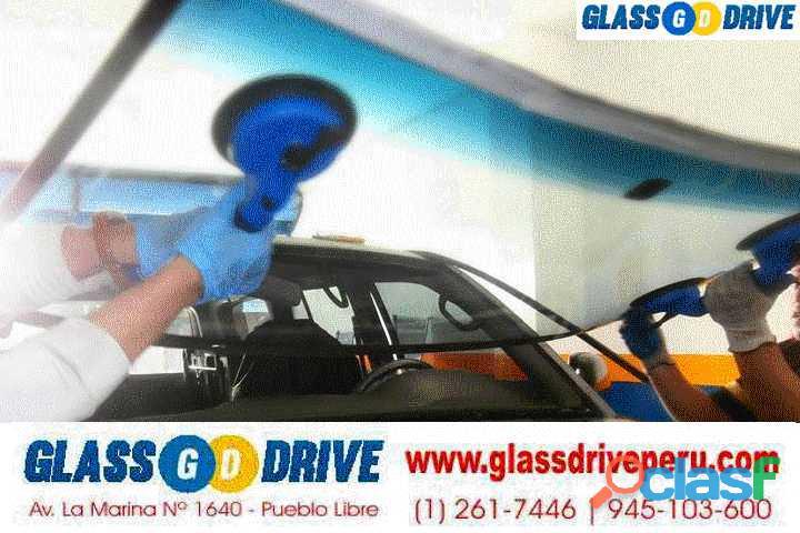 Cambio y venta de parabrisas lima perú laminas de seguridad glassdrive
