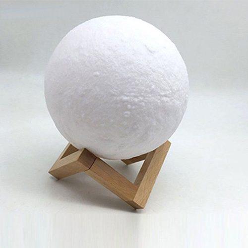 Lámpara de luna decorativa con luna 3d