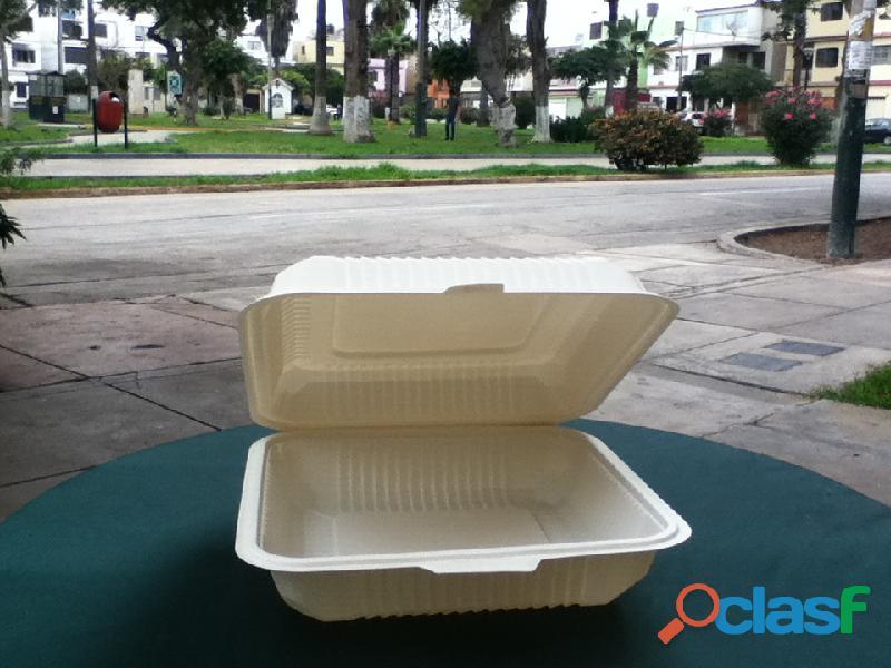 Envases descartables lima pueblo libre perú biodegradables ecogreenbio envases ecológicos desechable