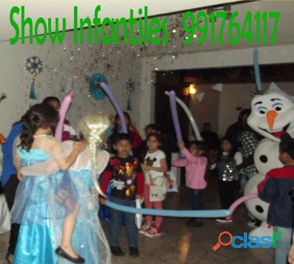 Show Infantiles 910483816 Almuerzos/Mozos/Bamans/Seguridad para Eventos