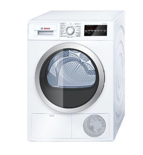 Bosch secadora carga frontal serie 6 wtg86402pe 8kg - blanco