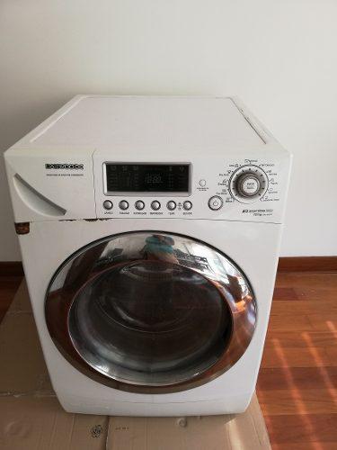 Lavadora secadora 12 kg marca daewo