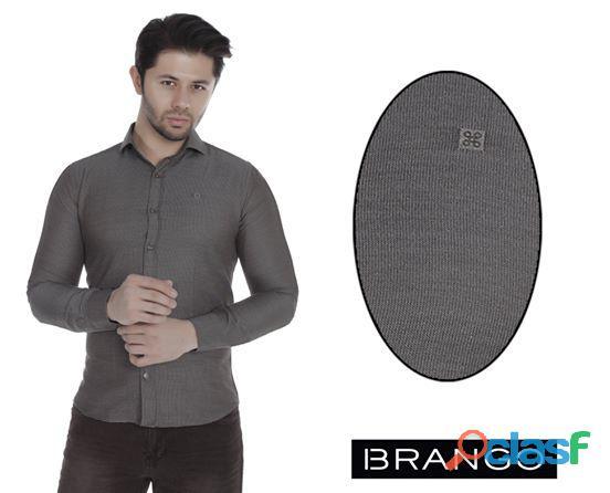 Camisa slim fit de turquia para hombres (moda europea) lima