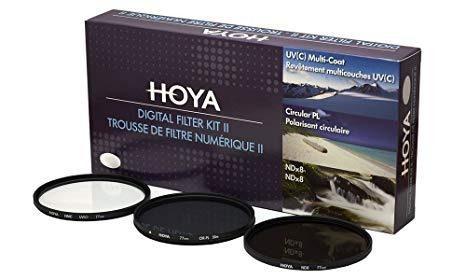 Hoya 52mm kit de filtros para digitalpolarizador