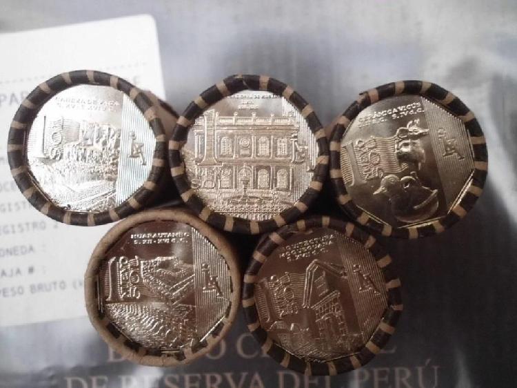 Riqueza y orgullo del peru 5 conos de monedas