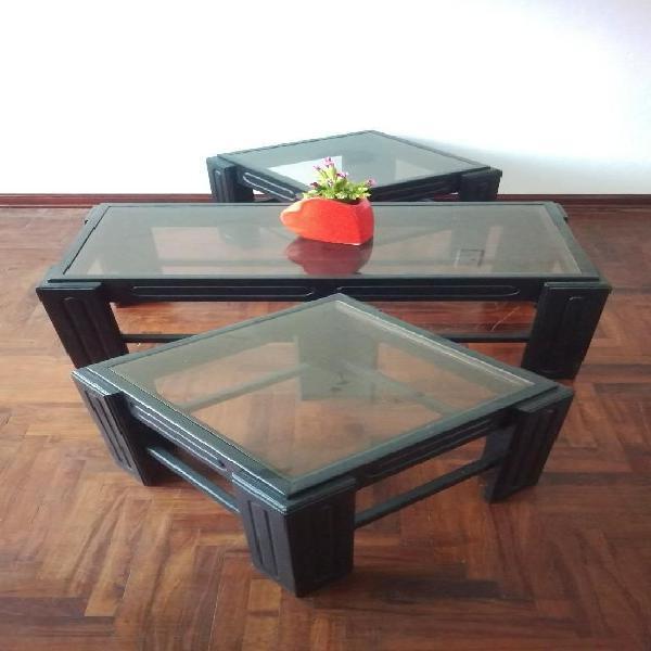 Vendo juego de mesa de sala 3 piezas