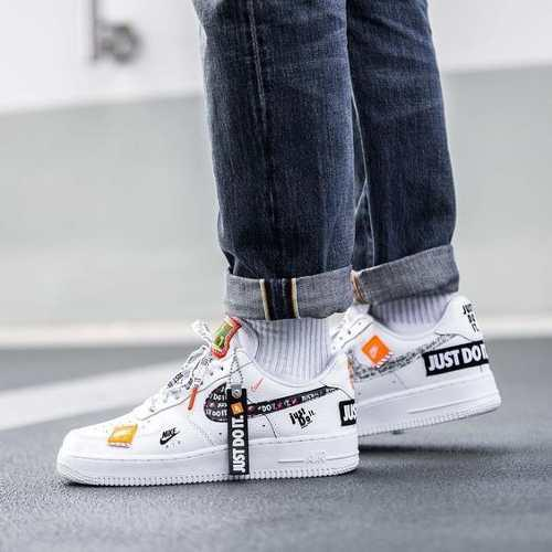 nike just do it zapatillas blancas