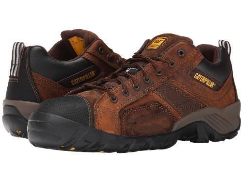 Zapatos caterpillar punta composite p89957 argon marrón