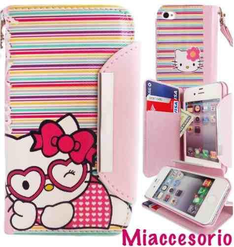 Case hello kitty billetera carcasa cobertor iphone 6 o 6s