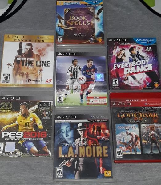Vendo cambio juegos ps3 play