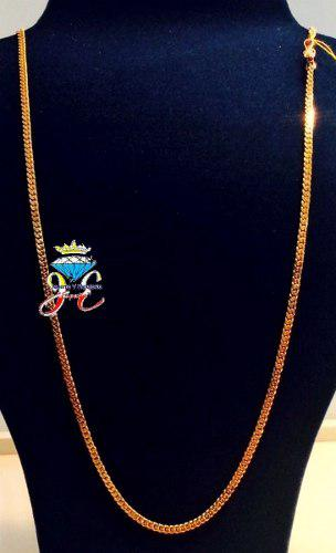 Cadena de oro 18k lomo corvina 60 cm cc_30 hombre jespaña