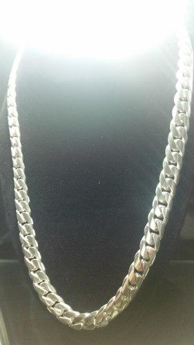 5bf8e5f9ef8b Cadena de plata ley 950 lomo de corvina 130 gramos gruesa