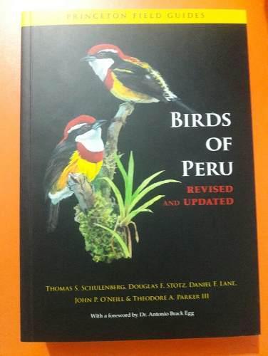 Libro de aves del peru en ingles