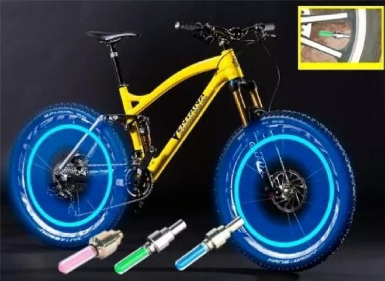Luces led para bicicleta, moto