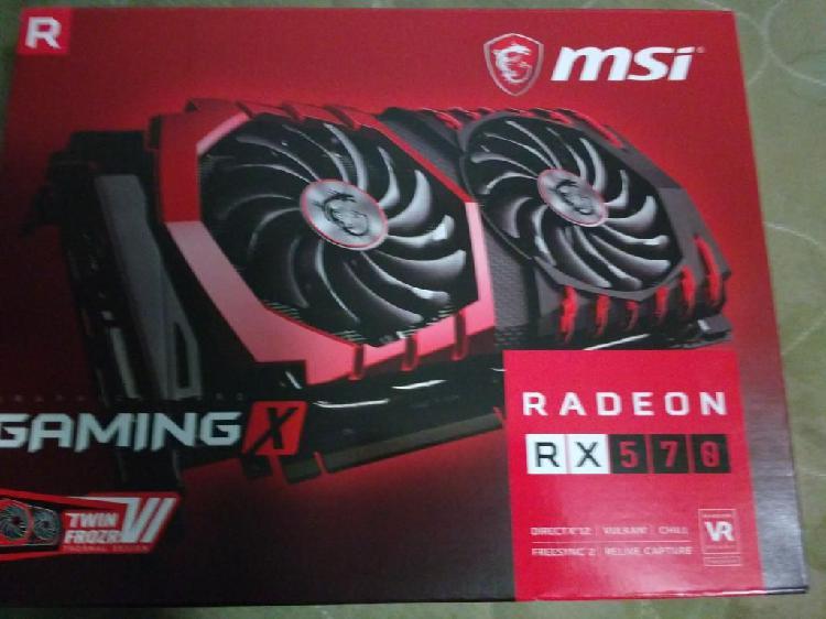 REMATE MSI Radeon RX570 4GB Tarjeta de video gráfica gamer