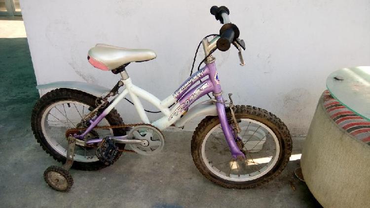 Remato Bicicleta Aro 16 para Niña