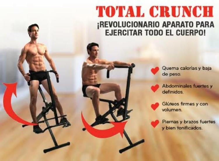 Total crunch - revolucionaria máquina