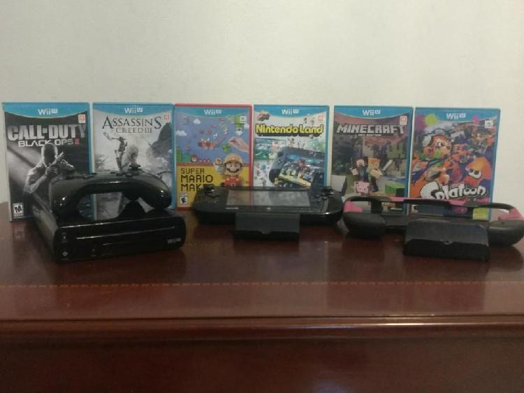 Wii U Americana con 6 Juegos Y 2 Mandos