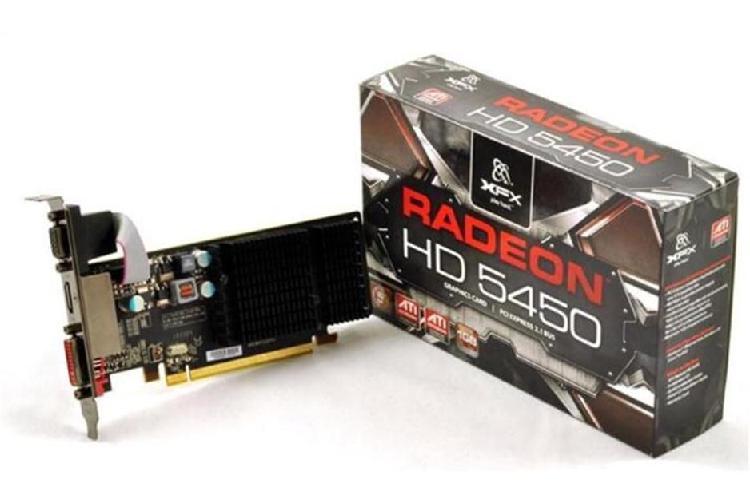 XFX Radeon HD 5450 Tarjeta gráfica 650 MHz Core 1 GB SDDR