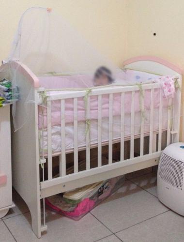 Cuna + mueble/ropero bebe niña - usado 8/10