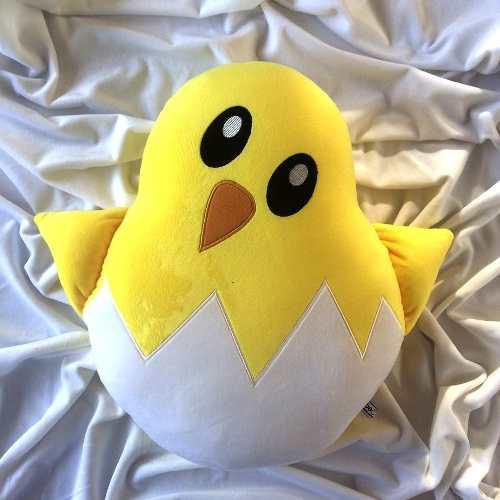Pollito pollo emoji cojines emoticon cojin almohada peluche