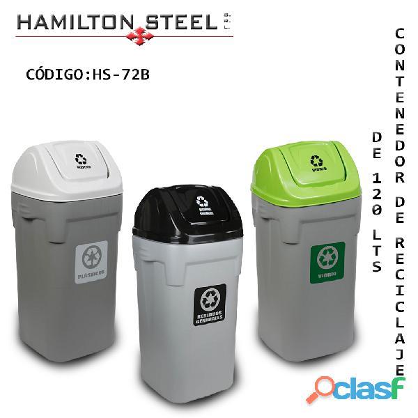 Contenedor de reciclaje de 120 lts