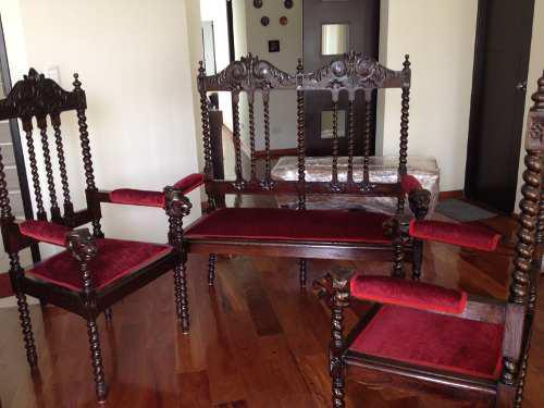 Muebles tallados