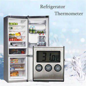 Pantalla lcd termometro digital de nevera refrigerador conge