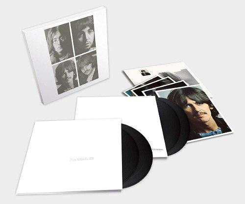 The beatles white album 4 vinilos 400 (nuevo)