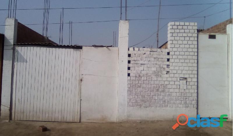 Vendo casa semiconstruida de 90m2 por alameda del norte   puente piedra
