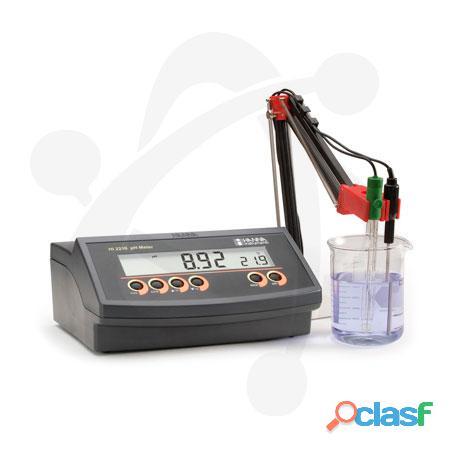 Medidor de ph/mv/temperatura profesional hi 2215 de mesa