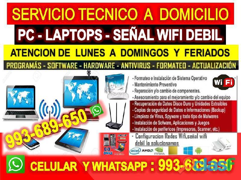Tecnico de repetidores wifi instalacion configuracion a domicilio