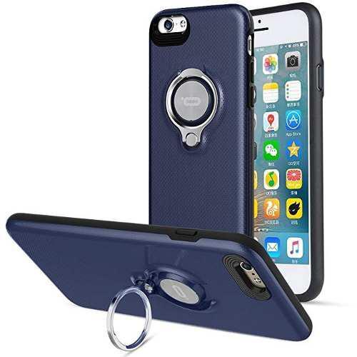 Iconflang - carcasa para iphone 6 con soporte de anillo, gir