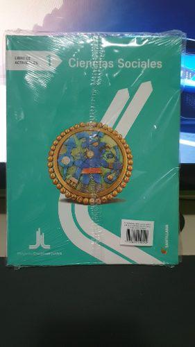 Libro actividades santillana ciencias sociales 1 secundaria