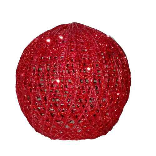 Adorno esfera decorativa 25cm casa sala regalo navidad amor