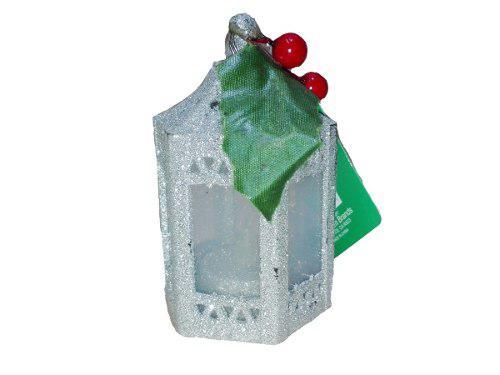 Adorno farol lampara navideño 12cm brand regalo navidad
