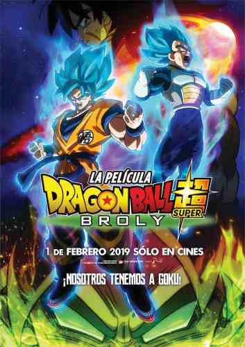 Dragon ball super broly 2019 hd 720p, 1080p español latino