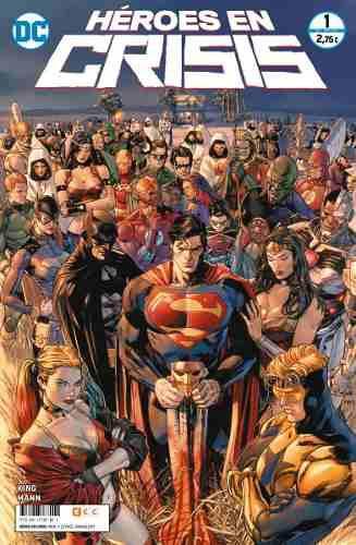 Heroes en crisis volumen 1 ecc españa