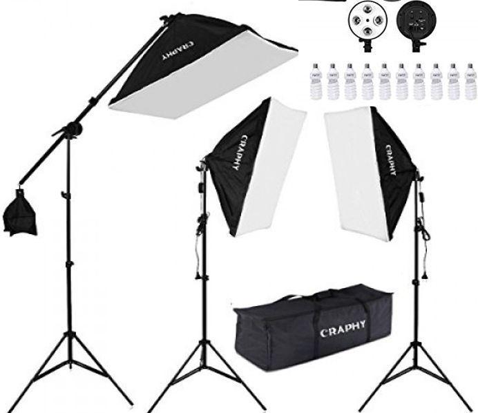 Kit de luces led para estudio de fotografia