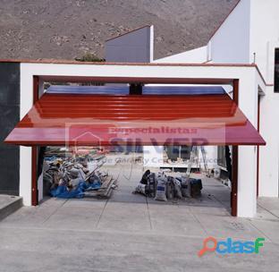 Puertas de garaje levadizas seccionales